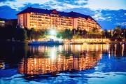Hotel Golebiewski вечером