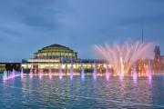 Вроцлав - концерт фонтанов в Щитницком парке