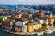 Стокгольм, вид на Гамла Стан